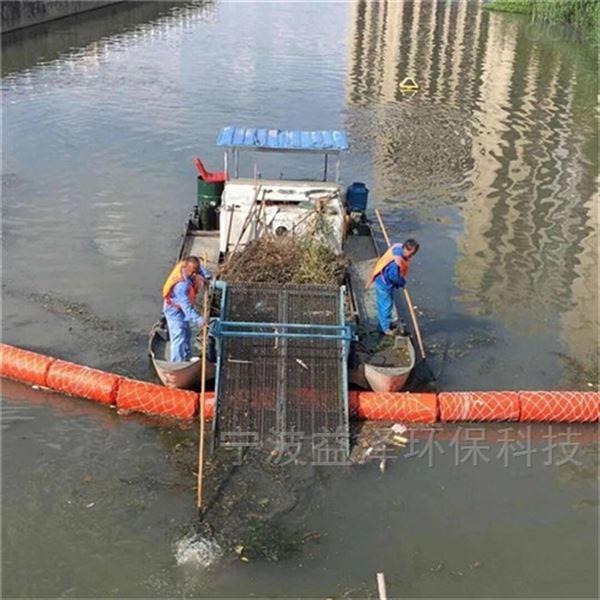 施工河道拦船PE浮桶