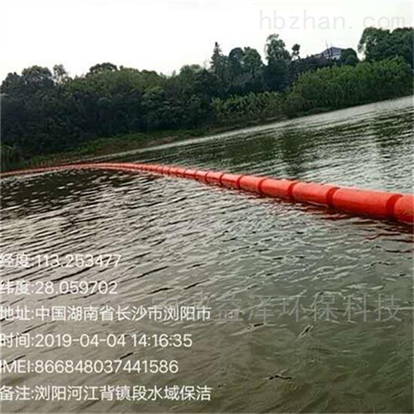 水电厂柔性拦污漂排