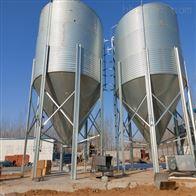 供应3-30吨吨镀锌板饲料塔