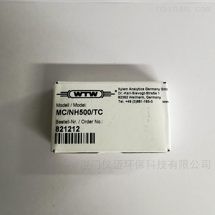 MC/NH500/TC氨氮电极膜 货号:821212 WTW