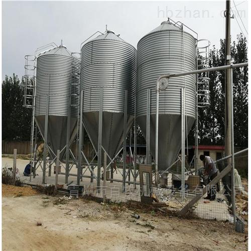 20吨养猪场镀锌料塔-养殖料塔批发