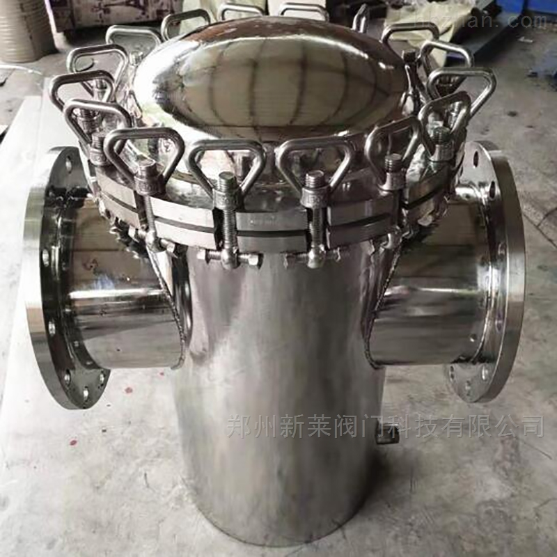 SBL-16P不锈钢直通篮式过滤器