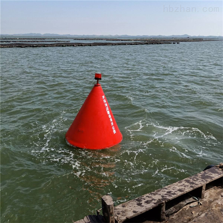 海上浴场警示围栏警示塑料浮标