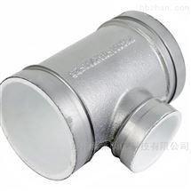 直饮水用银色衬塑沟槽三通
