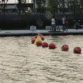 FQ300海边浴场深水区域划分警戒隔离浮球