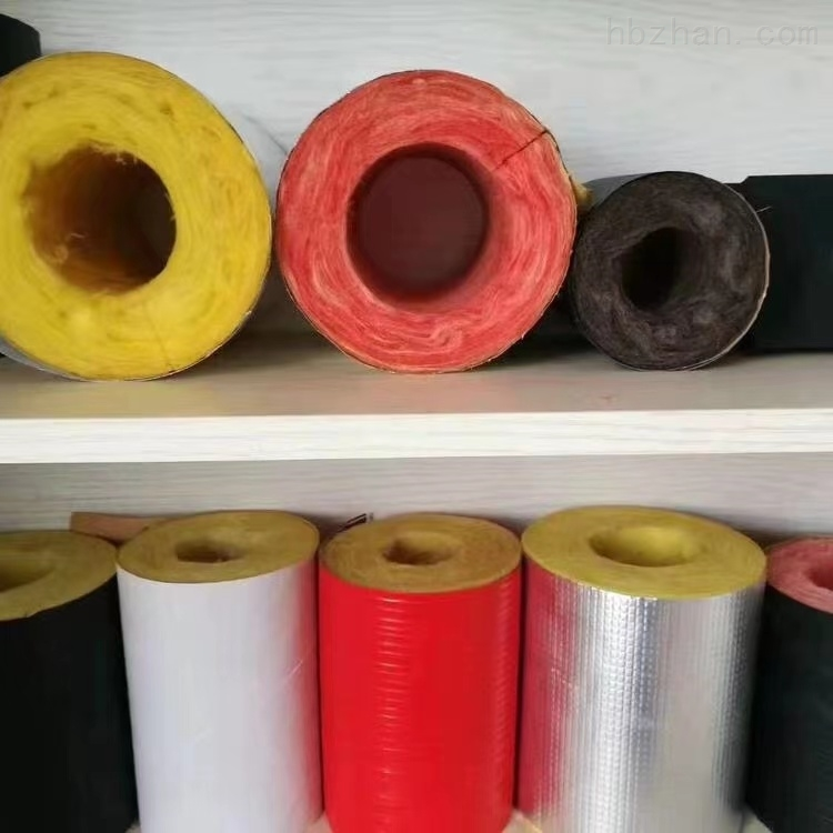 超细纤维玻璃棉保温管管道保温材料