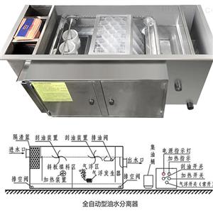 HT餐饮污水处理油水分离刮油机