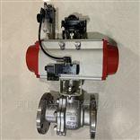 Q641F单作用气动不锈钢球阀