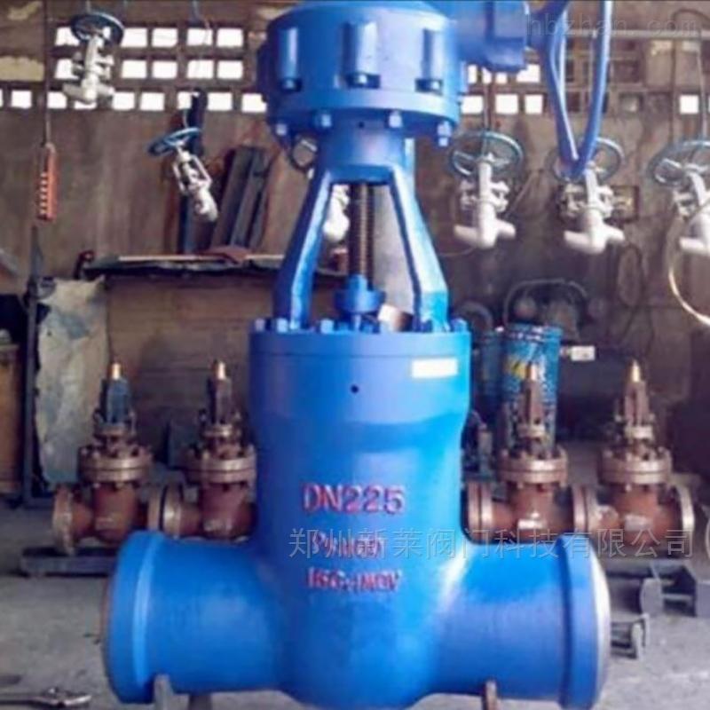 Z560Y-320电站伞齿轮焊接闸阀