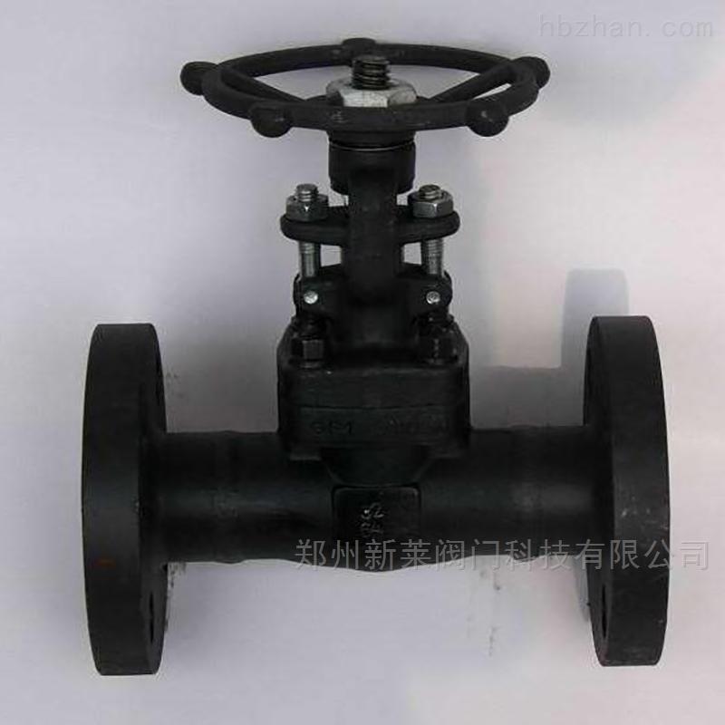 Z41H-40C黑皮锻钢高压闸阀