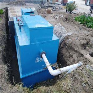HR-SP蔬菜瓜果加工地埋式污水处理装置