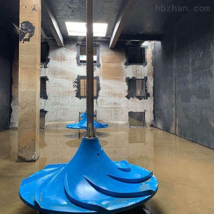 GSJ潜水式多曲面搅拌机结构