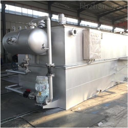 食品污水处理设备环保达标验收