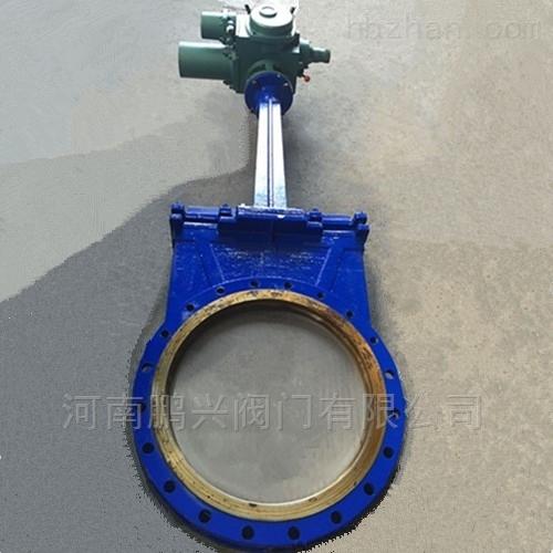圆形电动刀闸阀