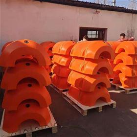 FT800*1100挖泥船清淤塑料浮体水源地抽水管道浮筒