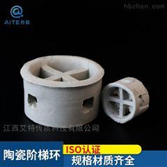 φ25-38-50-76陶瓷阶梯环填料洗涤塔填料