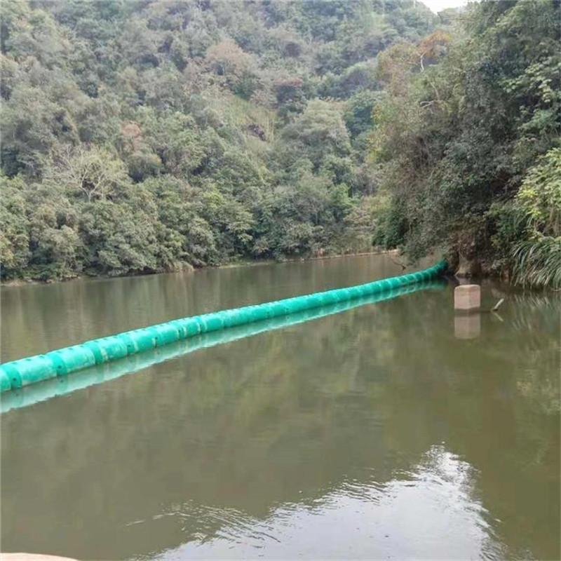 台风天气抗拉强水上挡垃圾拦污浮筒