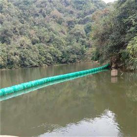 FT200*1000江河生活垃圾的拦截设施塑料拦污浮排