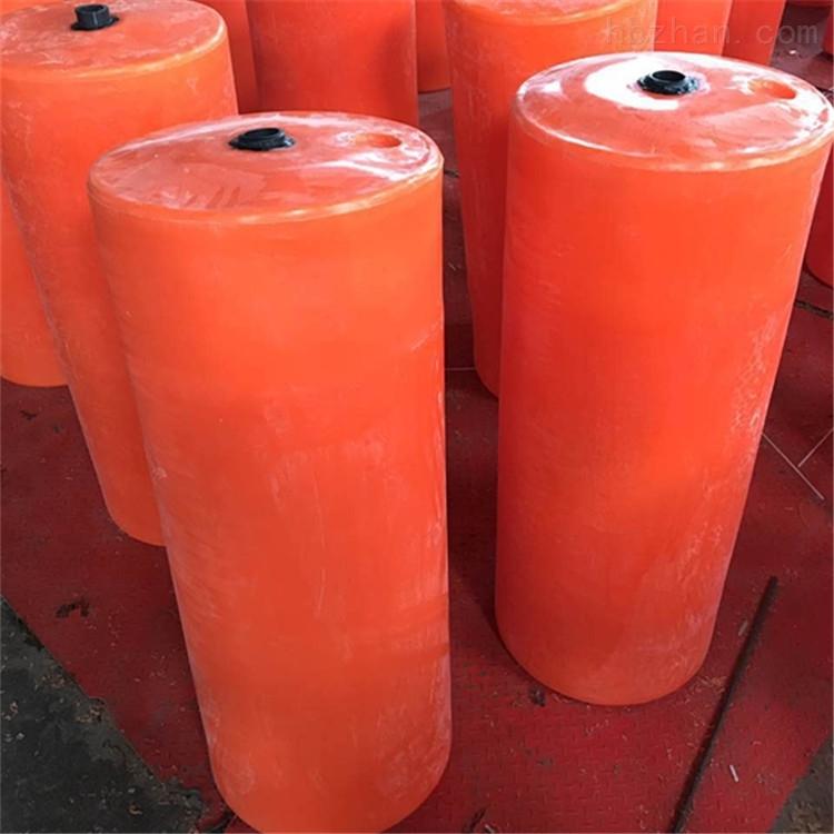 宁波柏泰免维护塑料浮筒拦截水面拦截漂浮物