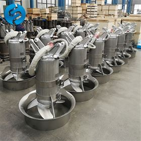 QJB5.5-620污泥池潛水攪拌器型號