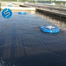 QFB-1.5漂浮式潜水曝气机安装方法