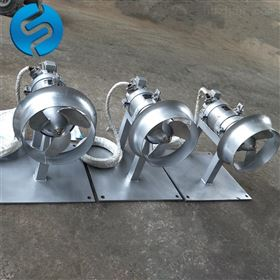 QJB0.85/8-260推流式潜水搅拌器选型
