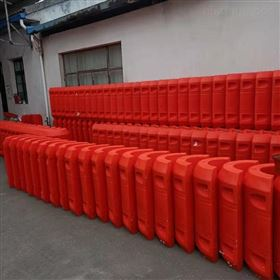 FT1100*1400夹16寸管道漂浮水面组合式管道浮筒