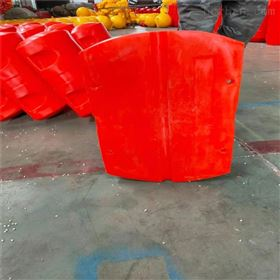 FT800*1100内径疏浚管道浮子聚乙烯排泥管浮筒