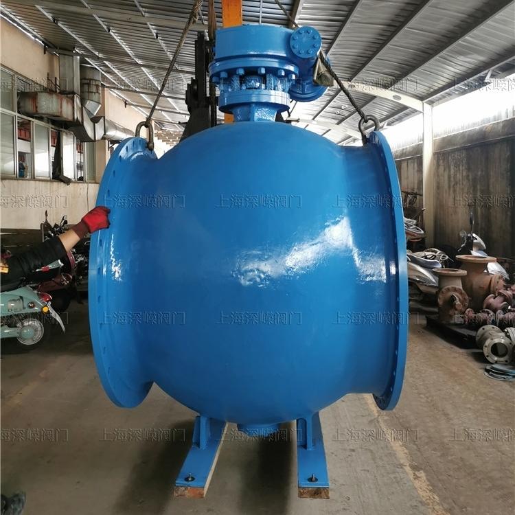 涡轮大口径偏心半球阀质量有保障--*