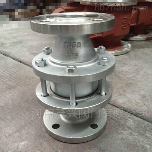 不锈钢氢气阻火器/氢气阻火器