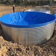高密度养殖鱼池圆形鱼池