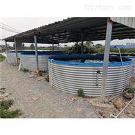 镀锌板养鱼池新型帆布蓄水池