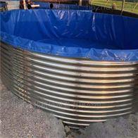 镀锌板养殖鱼池户外养鱼池