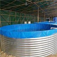 镀锌板鱼池拼接简易养鱼池