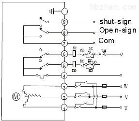 380V电源接线图