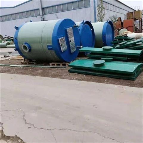岳阳市一体化预制泵站的特点