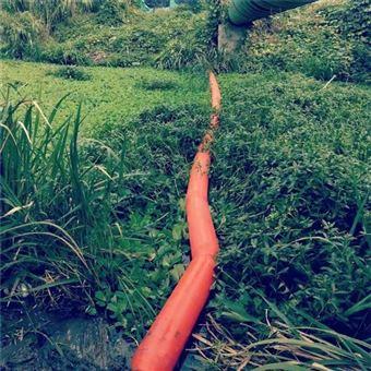 水库挂网拦污排式塑料浮筒