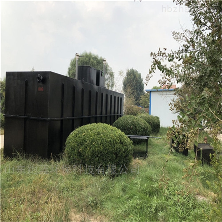 跑蓝一体化旅游景区污水处理设备定制