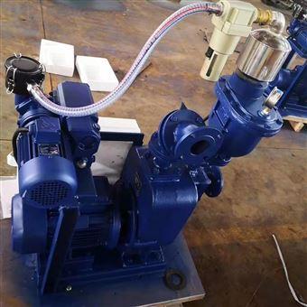 QZZS大吸力大流量真空辅助自吸泵