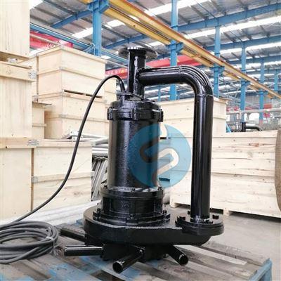 FQB河道增氧浮筒式曝气机 浮水式安装