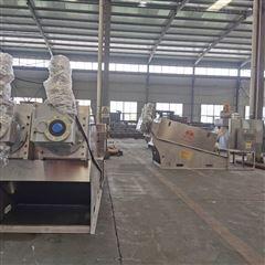 SL叠螺式污泥脱水机的工艺流程及特点