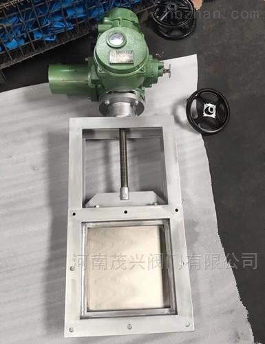 电动方形螺旋闸门