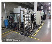 10吨双级反渗透加EDI超纯水系统