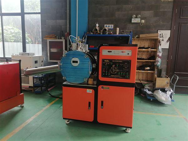 高温实验用真空熔炼喷铸甩带一体炉