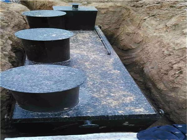 选购地埋式污水处理设备需要考虑的几点