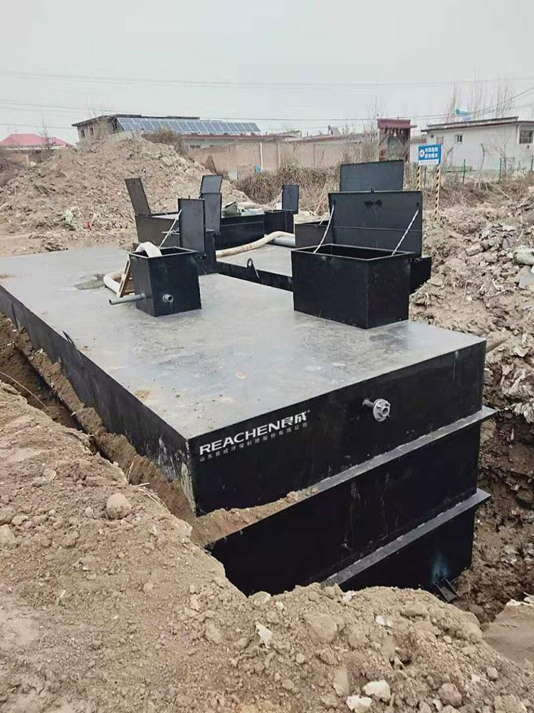 良成一体化污水处理设备助力张各庄农村污水处理项目