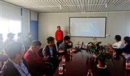 浙江省膜產業創新發展大會領導嘉賓實地觀摩易膜環保在建項目
