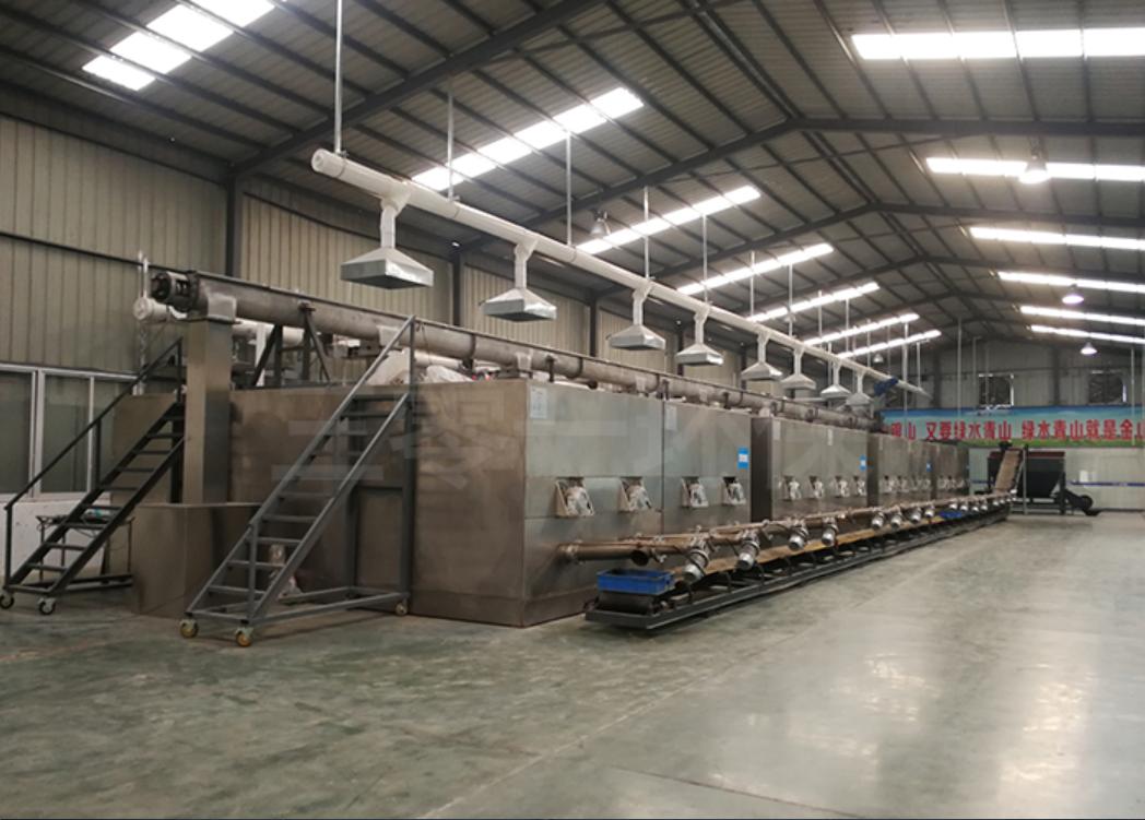 国家第三批试点渭南60吨/天餐厨垃圾处理中心
