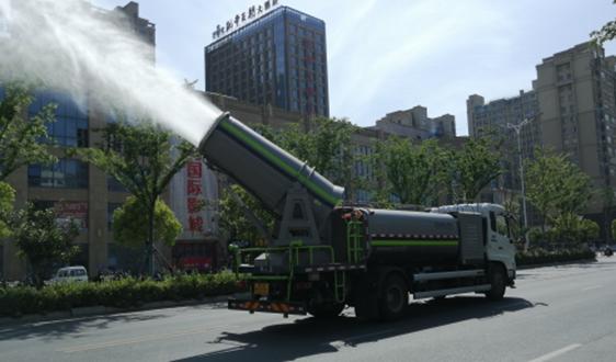 """江苏省滨海县城管局突出""""三个强化""""改善城市环境质量"""