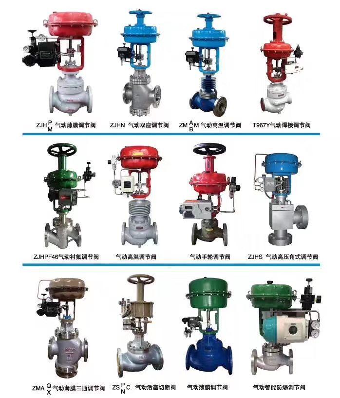 工业气动薄膜调节阀操作使用说明